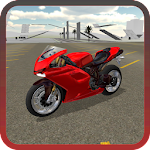 Extreme Motorbike Jump 3D Icon