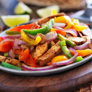 Slow Cooker Chicken Fajitas.