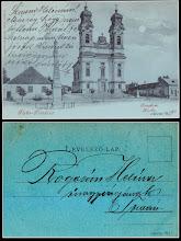 Photo: Budapesta, AK Tata-Tóváros - 1901 - colectie Remus Jercau - colaj