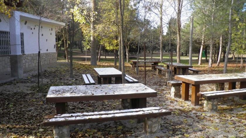 El área recreativa de La Piza.