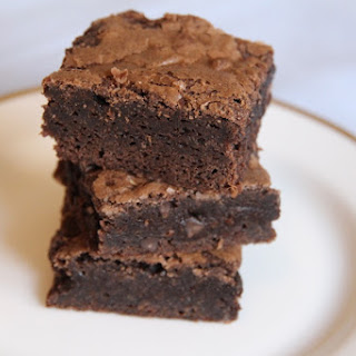 Chocolate Fudge Brownies.