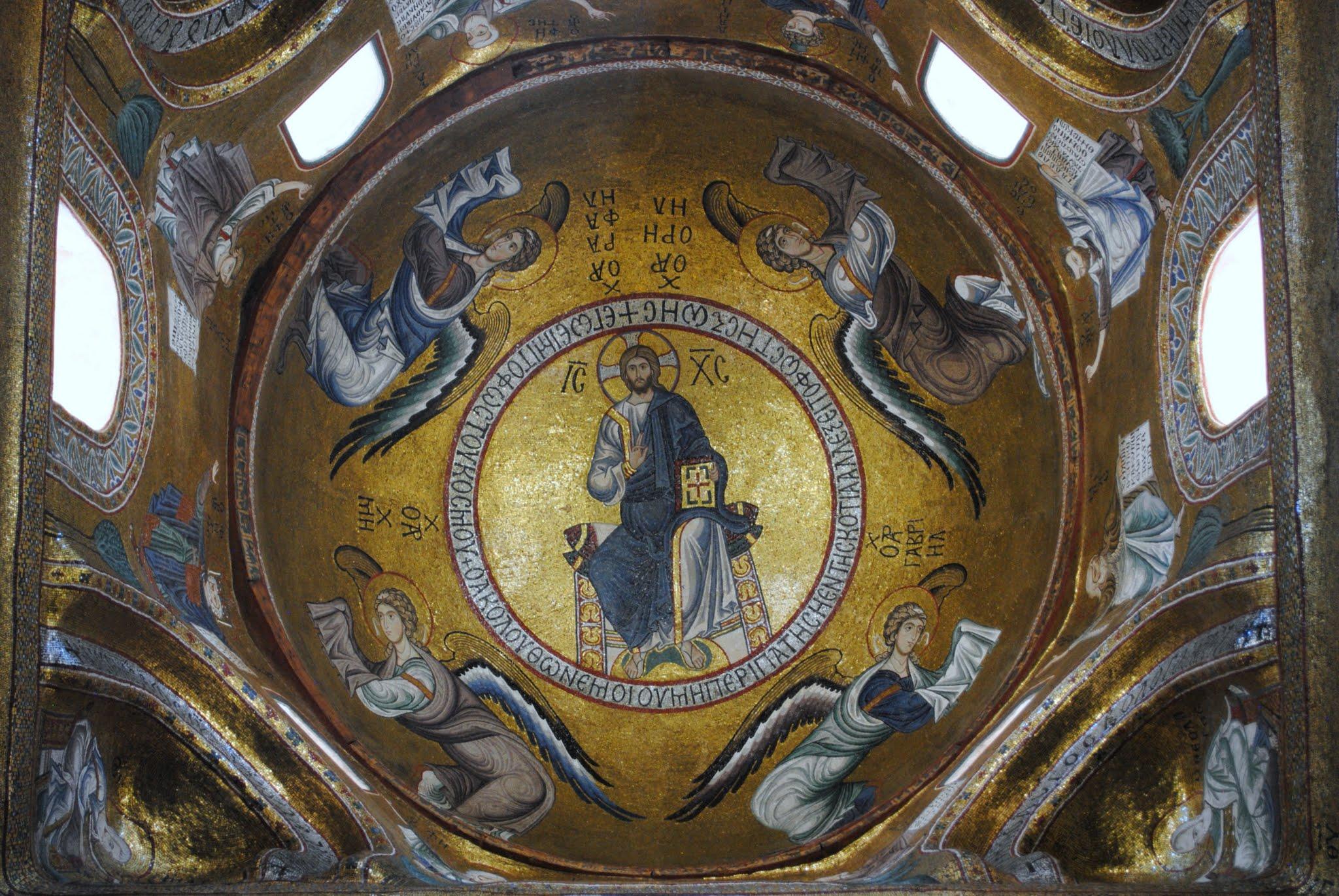 My Photos: Italy -- Sicily -- Palermo -- Churches -- La Martorana Cattedrale Santa Maria dell'Ammiraglio