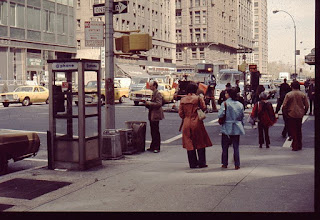 Photo: paul holmes in New York   1977