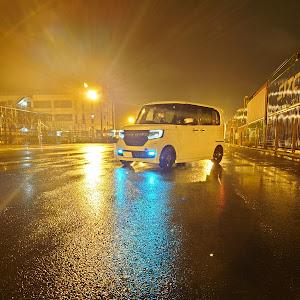 Nボックスカスタム JF4 のカスタム事例画像 👿静岡のやんちゃな白エヌボ👿さんの2021年01月23日20:43の投稿