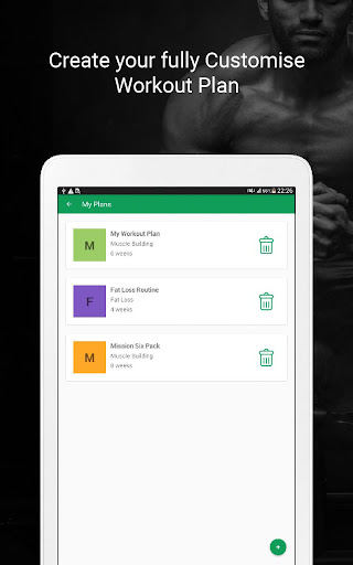 Fitvate - Home & Gym Workout Trainer Fitness Plans 6.8 screenshots 16