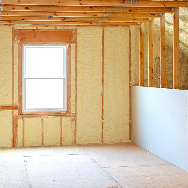 Foam Insulation - EcoSun Homes