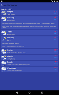 Just The Weather for PC-Windows 7,8,10 and Mac apk screenshot 8