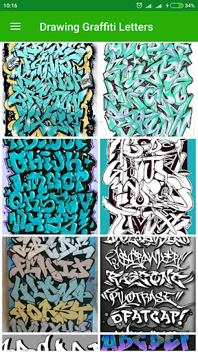 Drawing Graffiti Letters screenshot