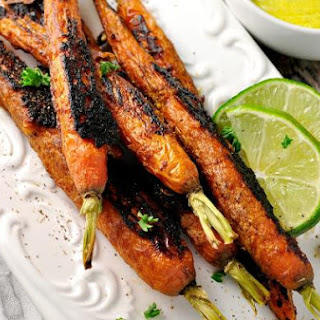 Vindaloo Curry Spiced Carrots.