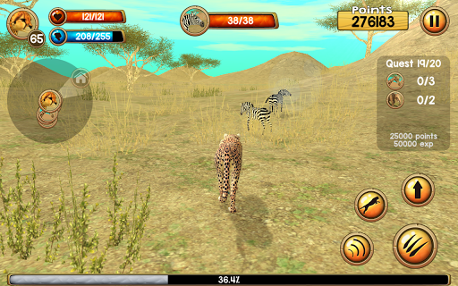 Wild Cheetah Sim 3D 2.0 screenshots 4