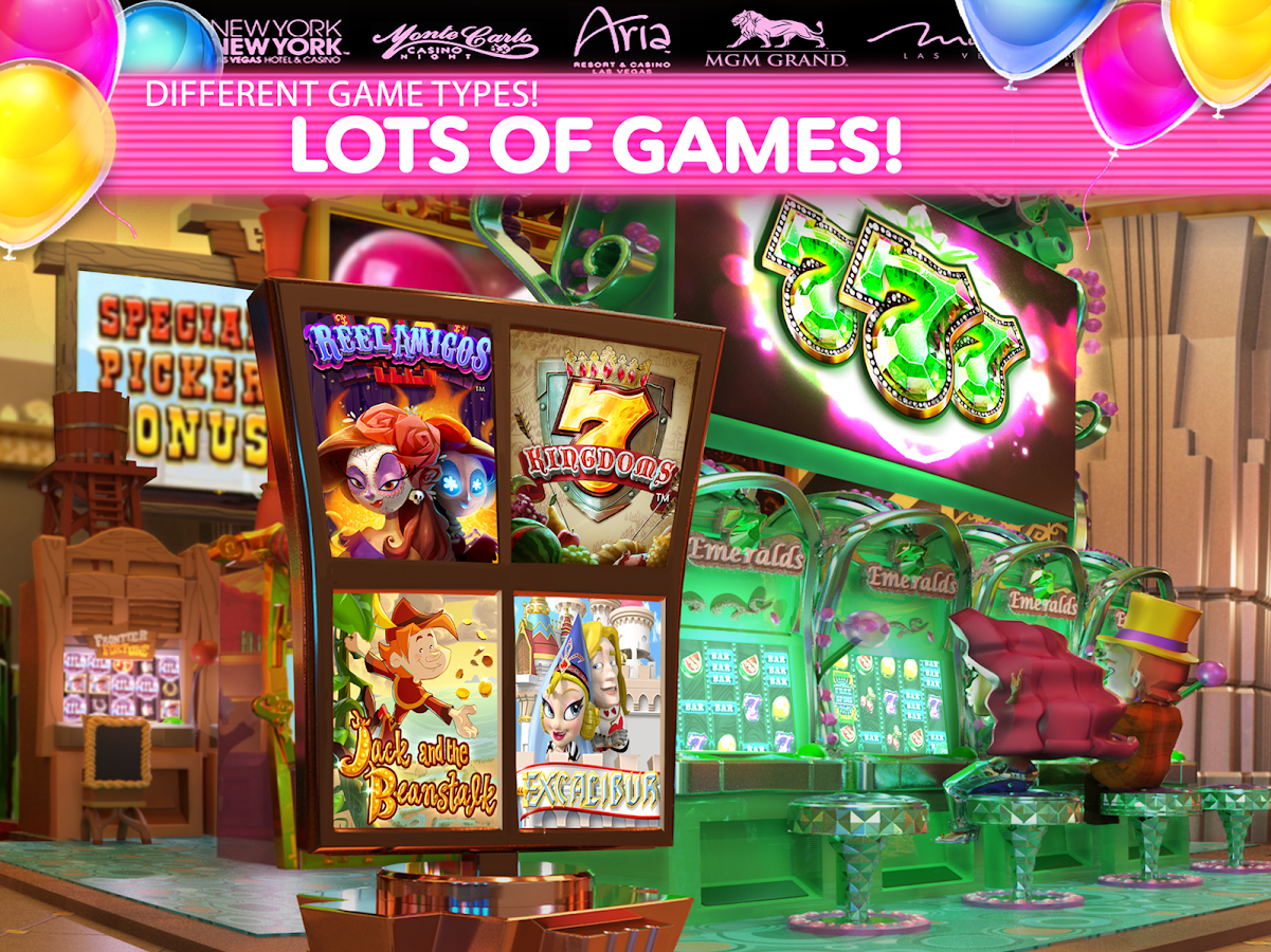 Vegas Casino Slot Machine Game