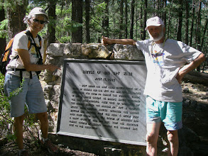 Photo: Norma & Steve A. hike to find the Battle of Big Dry Wash monument.