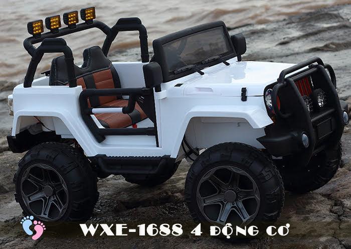 Ô tô điện cho bé WXE-1688 khủng với 4 động cơ 15