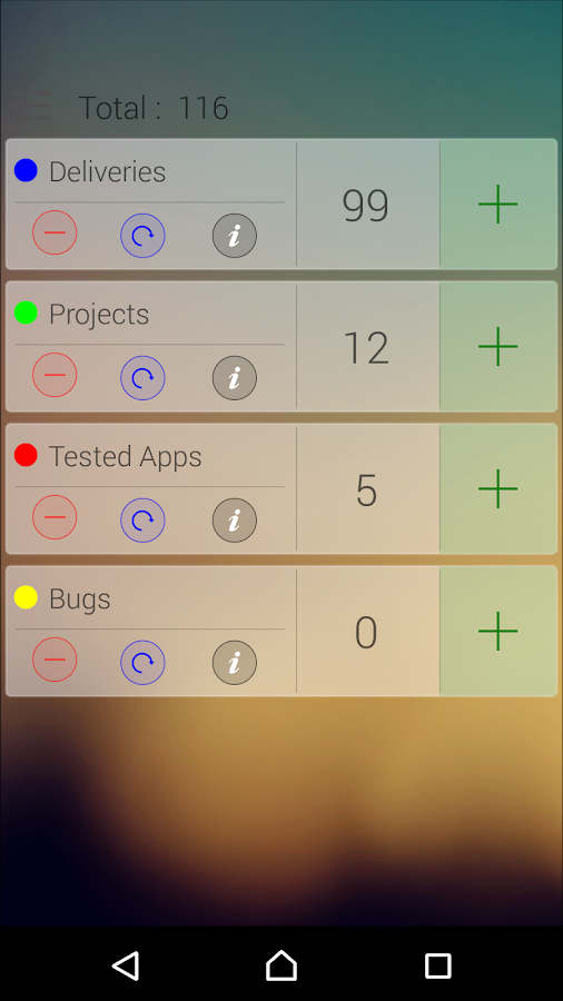 T Counter - Tally Counter- screenshot