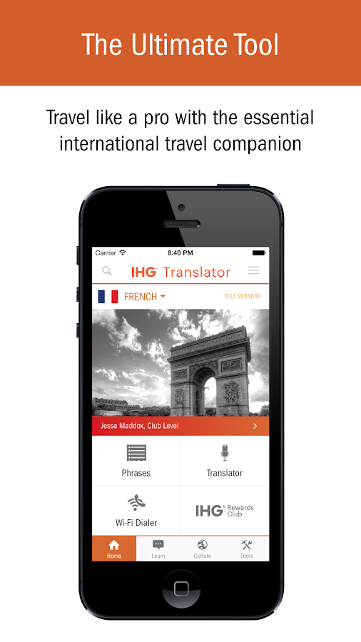IHG® Translator- screenshot