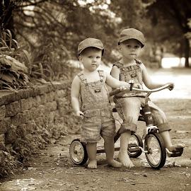 Tikes 'n' trikes by Scott Koukal - Babies & Children Child Portraits