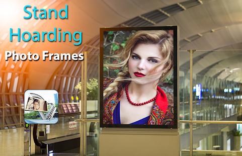 Stand Hoarding Photo Frames - náhled
