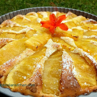 Fat Free Pineapple Sponge Cake
