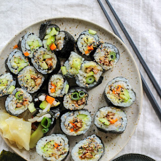 Vegan Sushi with Pickled Daikon