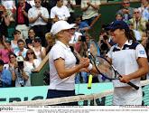 Clijsters nam het op tegen Capriati in de finale van Roland Garros in 2001