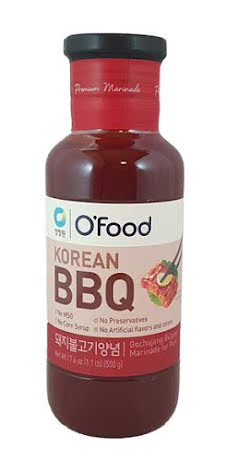 Korean Marinade Pork 500 g CJW