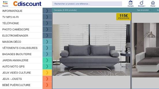 Cdiscount - Shopping mobile- screenshot thumbnail