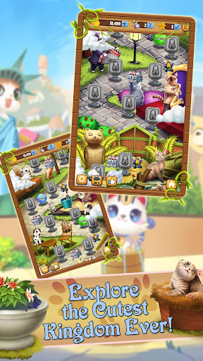 Bubble Pop Mania - Kitty Cat Adventures - screenshot