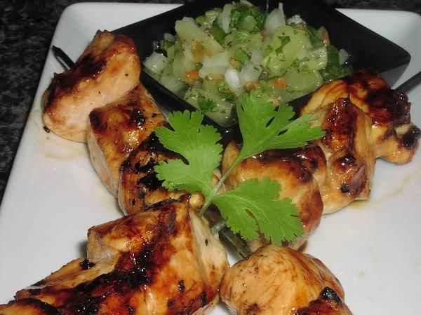 Maple-glazed Chicken W/sweet Jalapeno Salsa