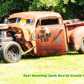 by Dave Walters - Typography Captioned Photos ( cars, crusin the coast 2018 )