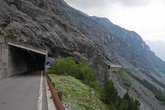 Photo: A teraz przejazd przez kilka tuneli.