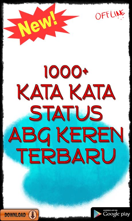 Kata Kata Status Abg Keren Terbaru Apk App Free Download