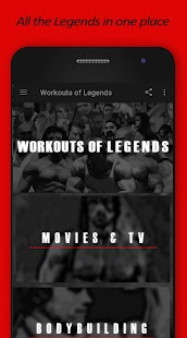 Workouts of Legends - náhled