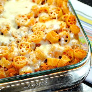 Wagon Wheel Pasta Bake.
