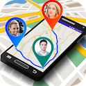 Mobile Location Tracker : GPS Maps Navigation icon