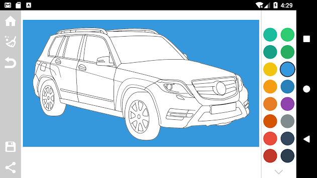 German Cars Coloring Book apk screenshot
