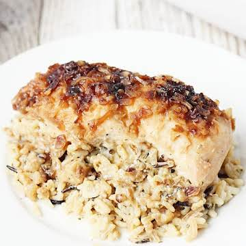 One-Pan No Peek Chicken & Rice