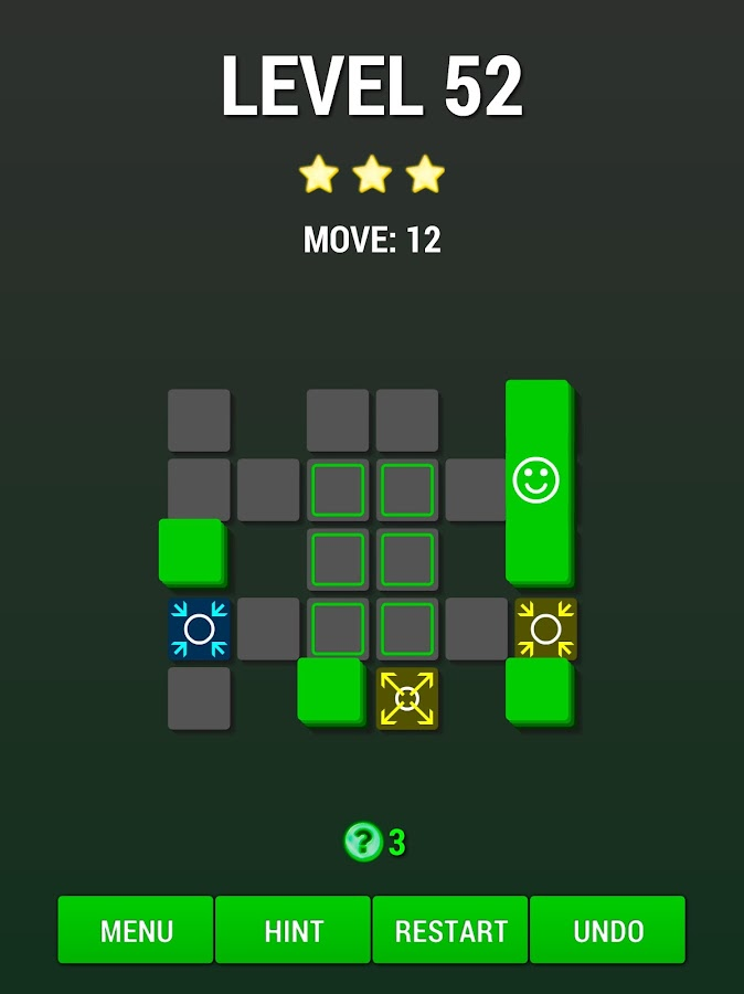 Move On Green: clever puzzle- screenshot