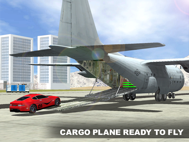 android Airplane Pilot voiture Screenshot 3