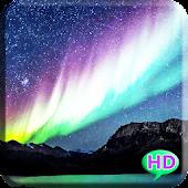 Galaxy Aurora Live Wallpaper