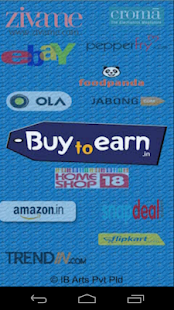 BuyToEarn : Deals and Coupons- screenshot thumbnail