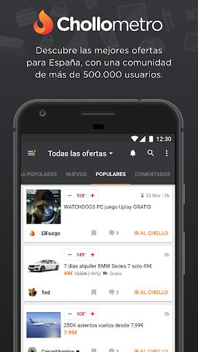 Chollometro – Chollos, ofertas y cosas gratis 5.18.03 screenshots 1