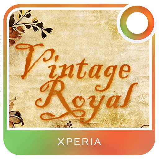 Xperia™ Theme - Vintage Royal