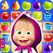 Masha et Michka: Jam Day - cartoons games for kids