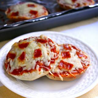 Freezer Friendly Pizza Bagels