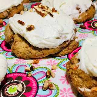 Chewy Carrot Cake Cookies Recipe