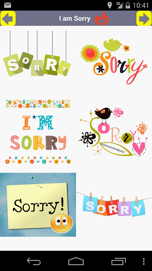 I am Sorry Card Android Apps on Google Play – Apology Card Messages