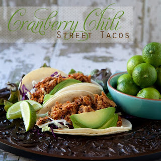 Cranberry Chili Street Tacos