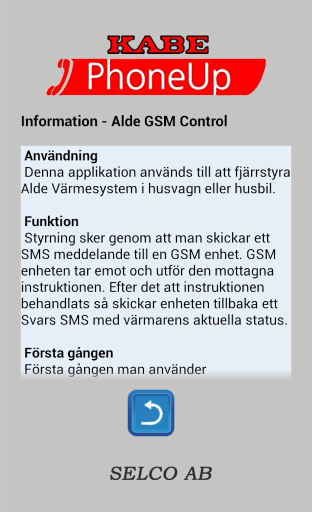 Control sms smart alde Mit dem