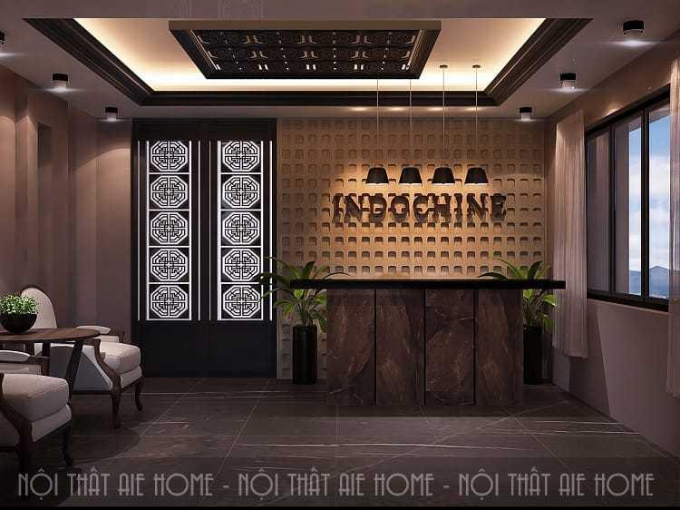Thiết kế nội thất spa mang phong cách thiên nhiên có cây xanh