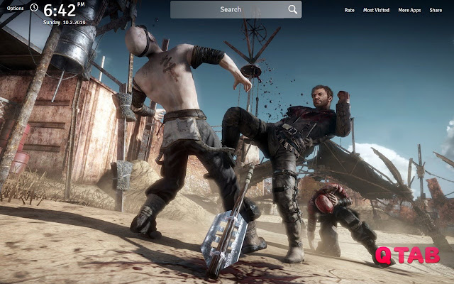 Mad Max Wallpapers Theme Mad Max Game New Tab